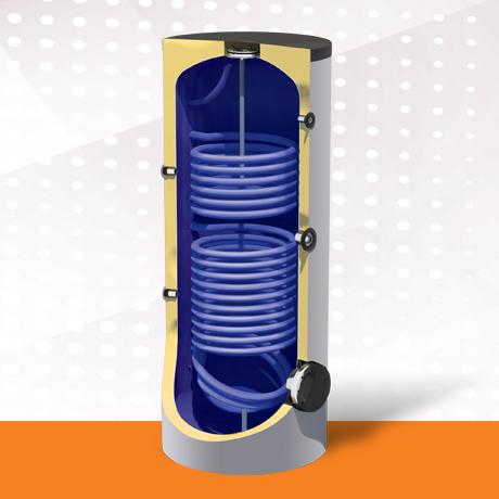 Zwangsumlauf-Wasserspeicher