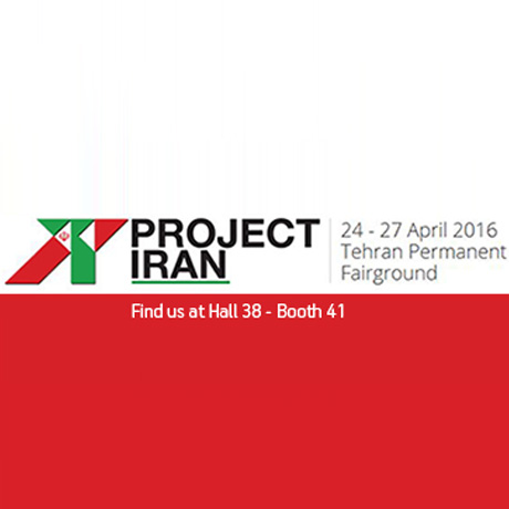 Project Iran Trade show || Tehran, Iran, 24th-27th of April 2016
